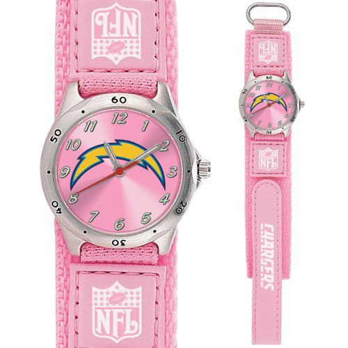 SAN DIEGO CHARGERS FUTURE STAR SRS PINK WATCH LIFETIME WARRANTY FREE SHIPPING