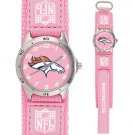 DENVER BRONCOS FUTURE STAR SERIES PINK  WATCH LIFETIME WARRANTY FREE SHIPPING