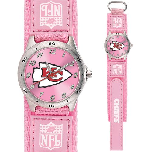 KANSAS CITY CHIEFS FUTURE STAR SERIES PINK WATCH LIFETIME WARRANTY FREE SHIPPING