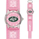 NEW YORK JETS FUTURE STAR SERIES PINK WATCH LIFETIME WARRANTY FREE SHIPPING