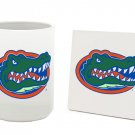 FLORIDA GATORS 15 OUNCE CLASSIC COLLECTION LOGO SERIES MUG WITH MATCHING COASTER FREE SHIPPING
