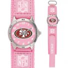 SAN FRANCISCO 49ERS FUTURE STAR SERIES PINK WATCH LIFETIME WARRANTY FREE SHIPPING