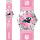 CAROLINA PANTHERS FUTURE STAR SRS PINK WATCH LIFETIME WARRANTY FREE SHIPPING