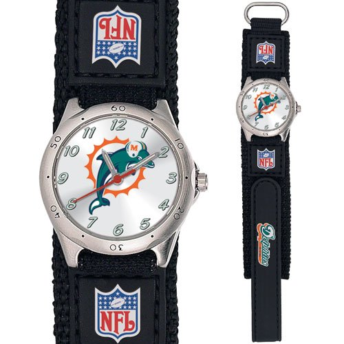 MIAMI DOLPHINS FUTURE STAR SERIES WATCH LIFETIME WARRANTY FREE SHIPPING