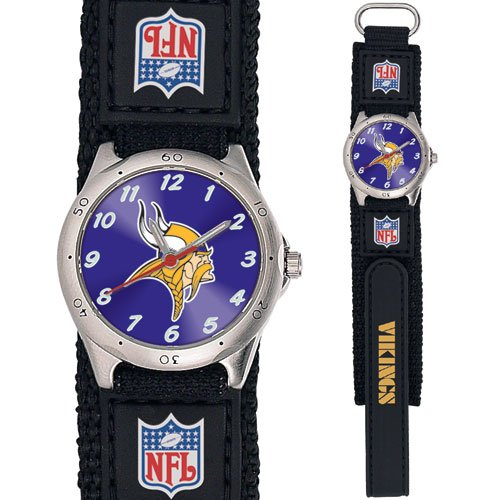 MINNESOTA VIKINGS FUTURE STAR SERIES WATCH LIFETIME WARRANTY FREE SHIPPING