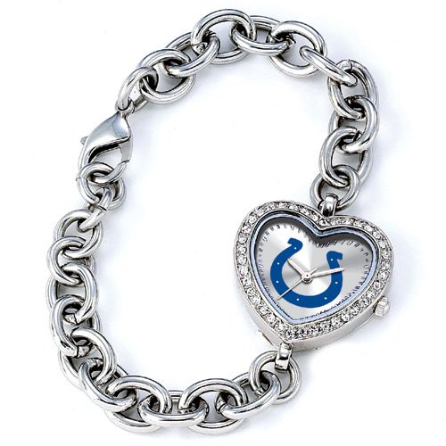 GAME TIME INDIANAPOLIS COLTS HEART WATCH  FREE SHIPPING LIFETIME WARRANTY