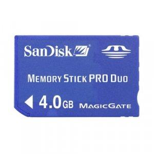 4GB Memory Stick PRO Dou