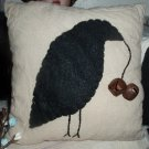 Crow Pillow
