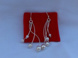 Sterling Silver .950 Earring - 100% Genuine and Handcrafted in Peru