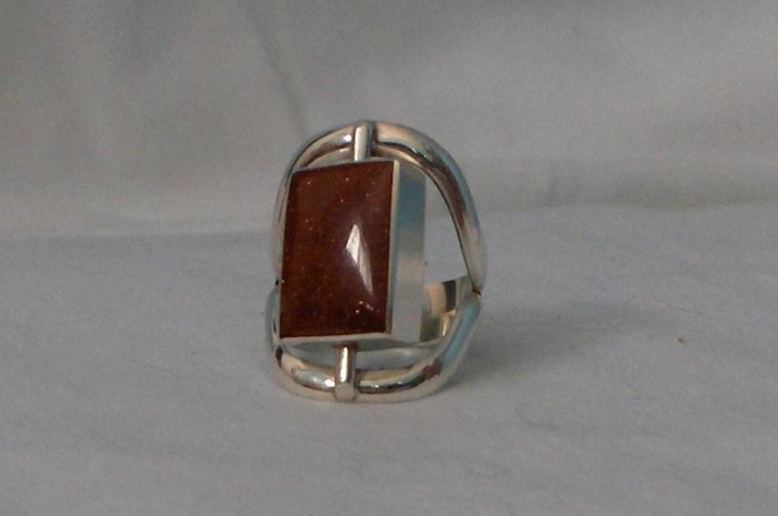 .950 Rotating Silver Ring - Sterling Silver and Handcrafted
