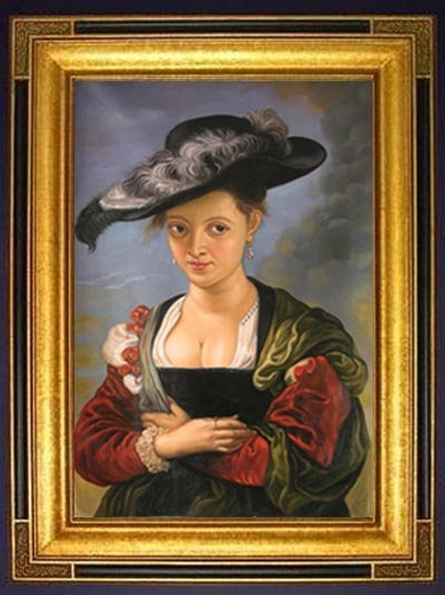 Peter Paul Rubens � �Portrait of Suzanne Lunden.�