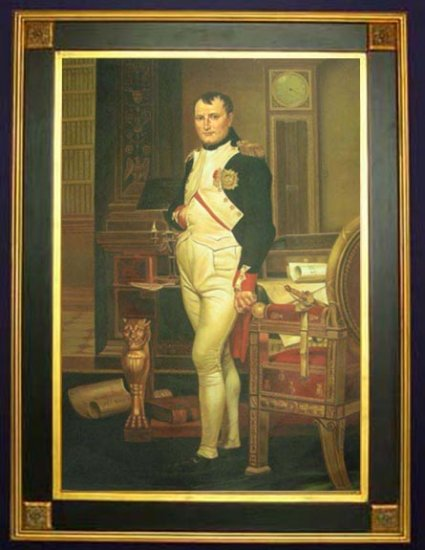 Jacques Louis David � �Napoleon in his Studio.