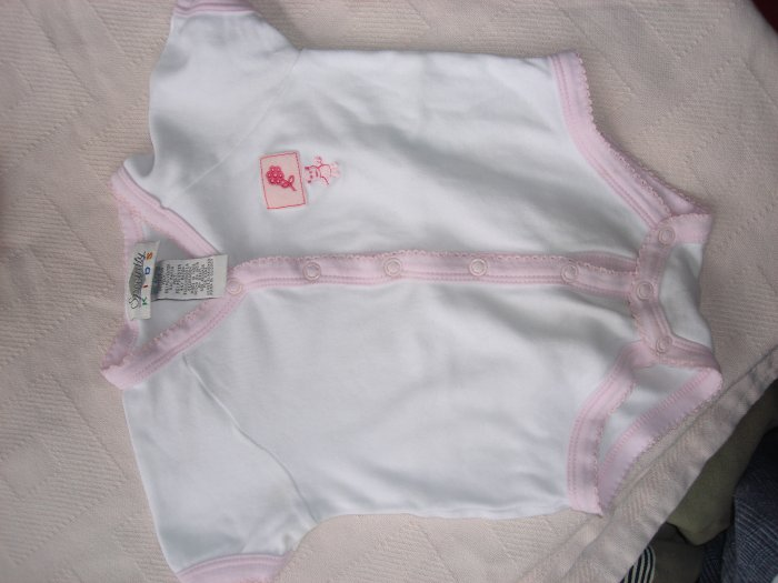 Pink infant girls' Bear onesie by Specialty Kids 6-9m