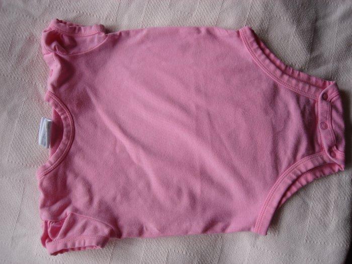Pink girl's onesie 3-6 months by kidskorner