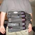 paintball back holster pod holder