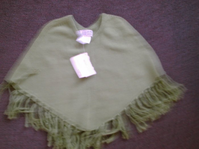jojo kids shawl nwt size medium