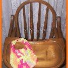 Baby Girl Bib Colorful Splotches