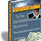 Article Marketers' Handbook