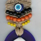 Macreme evil eye ..Door-wall hanger.