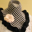 Black-ivory knitted acrylic yarn neckwarmer,winter,fashion,soft....
