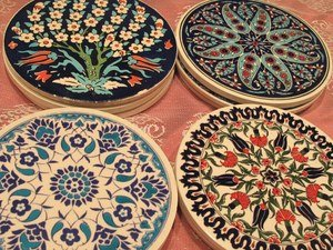 Turkish ceramic door -wall hangings.  for you or your  friends
