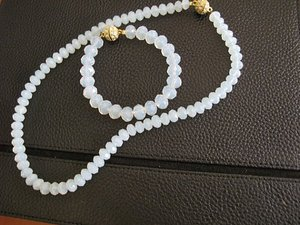 Necklace- bracelet-earring ,Bride-Bridesmaid, wedding moonstone set .