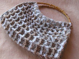 Crocheted  handmade bag