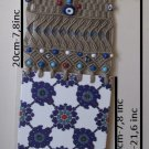 Macrame evil eye wall hanging.OOAK