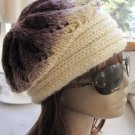 Knitted degrade wool hat,beanie cap