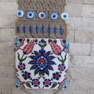 Macrame evil eye wall hanging.for your sweet home.OOAK