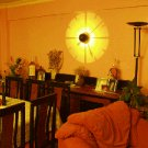 WALL CLOCK.TIME BRIGHT,wall MOUNTED  PROJECTION LIGHT