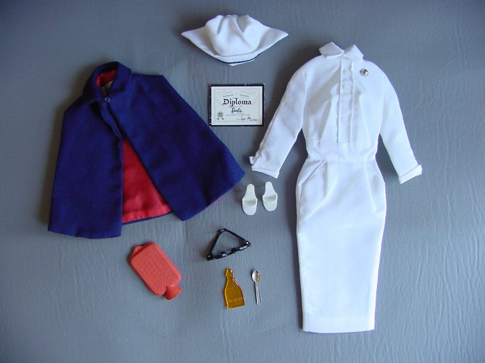 Vintage Barbie Registered Nurse RN 991 (1961-64)