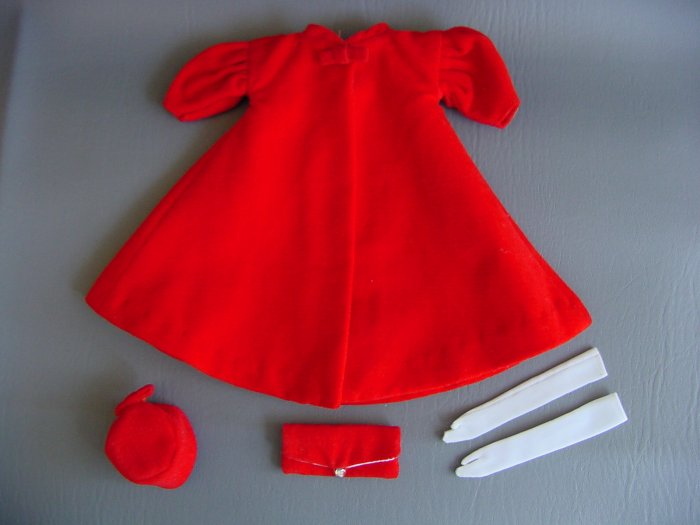 Vintage Barbie Red Flare 939 (1962-65)