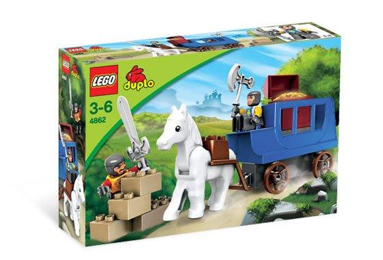 Lego Castle Knight Duplo Ambush 4862 (2008) New Set! Sealed!