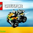 LEGO Brickmaster Creator 4x4 Dynamo 20014 (2010) New in Sealed Polybag!