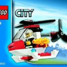 Lego City Fire Helicopter 4900 (2010) New Set in Sealed Polybag!