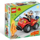 Lego Duplo Fire Chief 5603 (2009) New! Sealed!