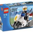Lego City Police Motorcycle 7235 (2009) Hard To Find! Sealed Set!