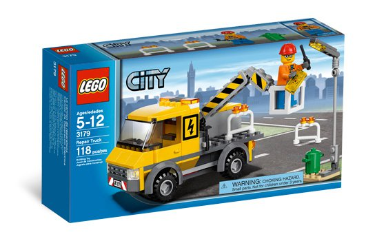 Lego City Public Works Repair Truck 3179 (2010) Sealed!