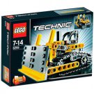 Lego Technic Mini Bulldozer 8259 (2009) New! Sealed!