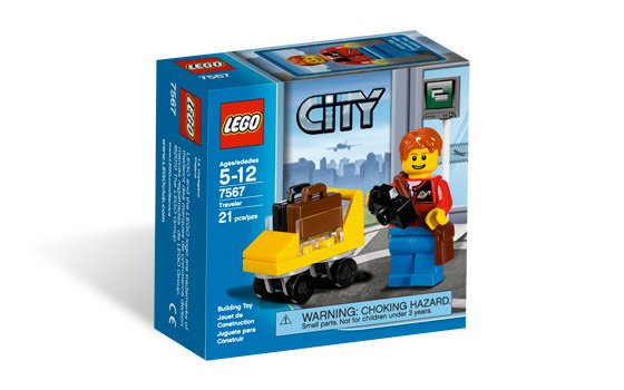 Lego City Traveler 7567 (2010) New! Sealed!