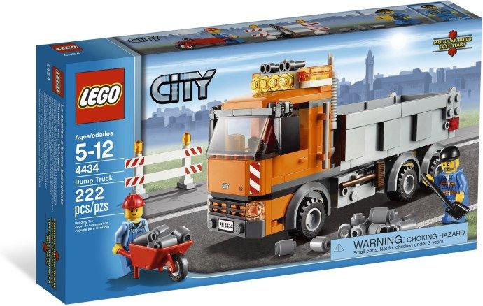 Lego City Dump Truck 4434 (2012)  New! Sealed!