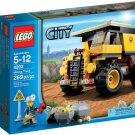 Lego City Mining Truck 4202 (2012)  New Factory Sealed Set!