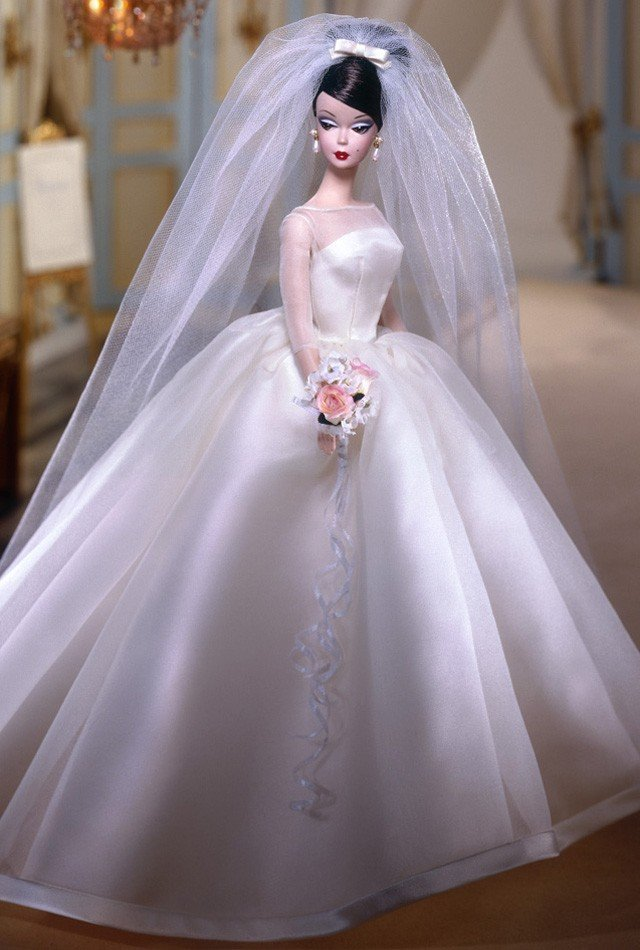 Платья для барби своими руками свадебные 25