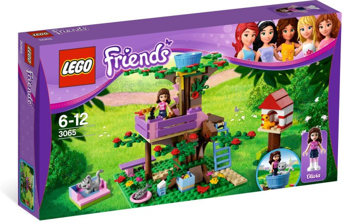 Lego Friends Olivia's Tree House 3065 (2012) New Factory