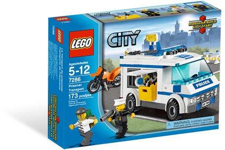 Lego City Prisoner Transport 7286 (2011) New Factory Sealed Set!