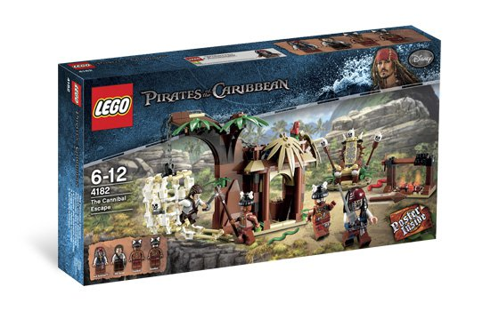 Lego Pirates of the Caribbean The Cannibal Escape 4182 (2011) New! Sealed!