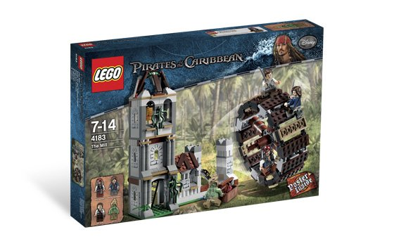 Lego Pirates of the Caribbean The Mill 4183 (2011) New! Sealed!