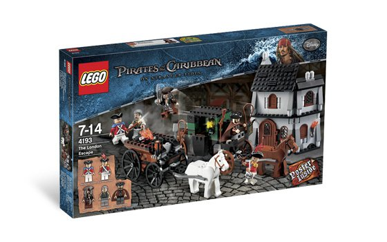 Lego Pirates of the Caribbean The London Escape 4193 (2011) New! Sealed!