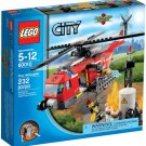 Lego City Fire Helicopter 60010 (2013) New! Sealed!